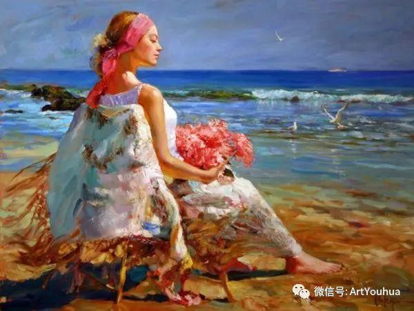 人物油画欣赏  俄罗斯画家Vladimir Volegov插图5