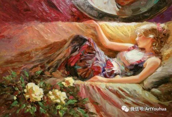 人物油画欣赏  俄罗斯画家Vladimir Volegov插图6