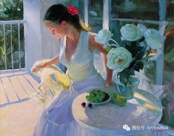 人物油画欣赏  俄罗斯画家Vladimir Volegov插图7