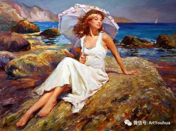 人物油画欣赏  俄罗斯画家Vladimir Volegov插图8