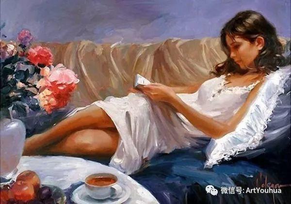 人物油画欣赏  俄罗斯画家Vladimir Volegov插图9