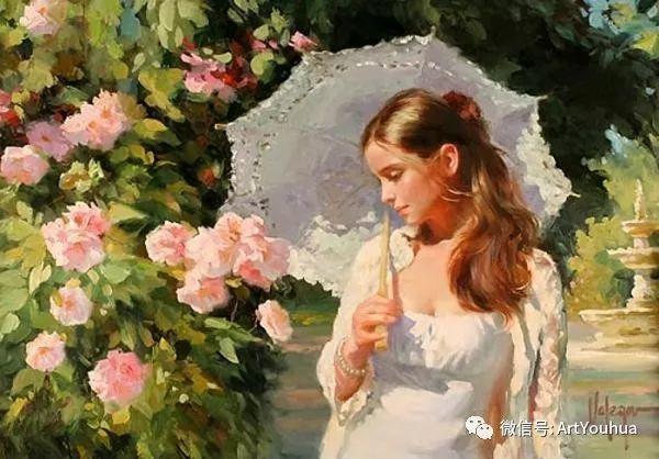 人物油画欣赏  俄罗斯画家Vladimir Volegov插图10