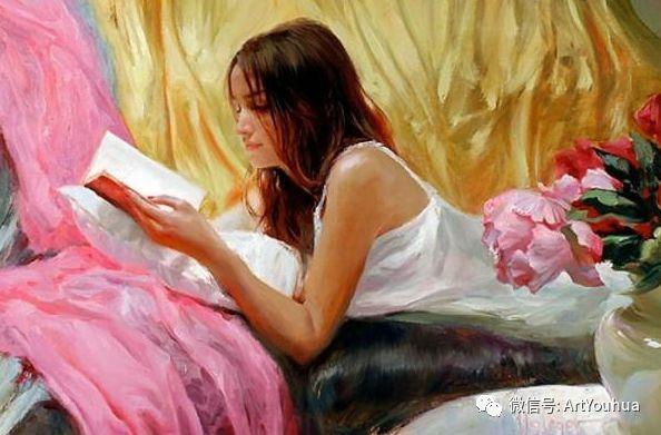 人物油画欣赏  俄罗斯画家Vladimir Volegov插图11