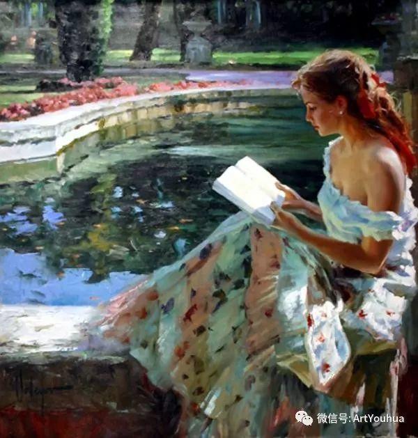 人物油画欣赏  俄罗斯画家Vladimir Volegov插图12