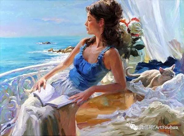 人物油画欣赏  俄罗斯画家Vladimir Volegov插图14