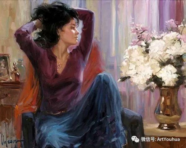 人物油画欣赏  俄罗斯画家Vladimir Volegov插图15