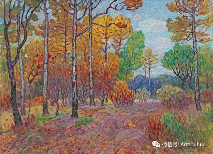 孙云台风景油画欣赏插图15