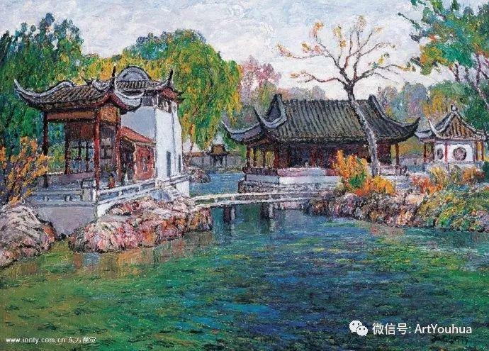 孙云台风景油画欣赏插图25