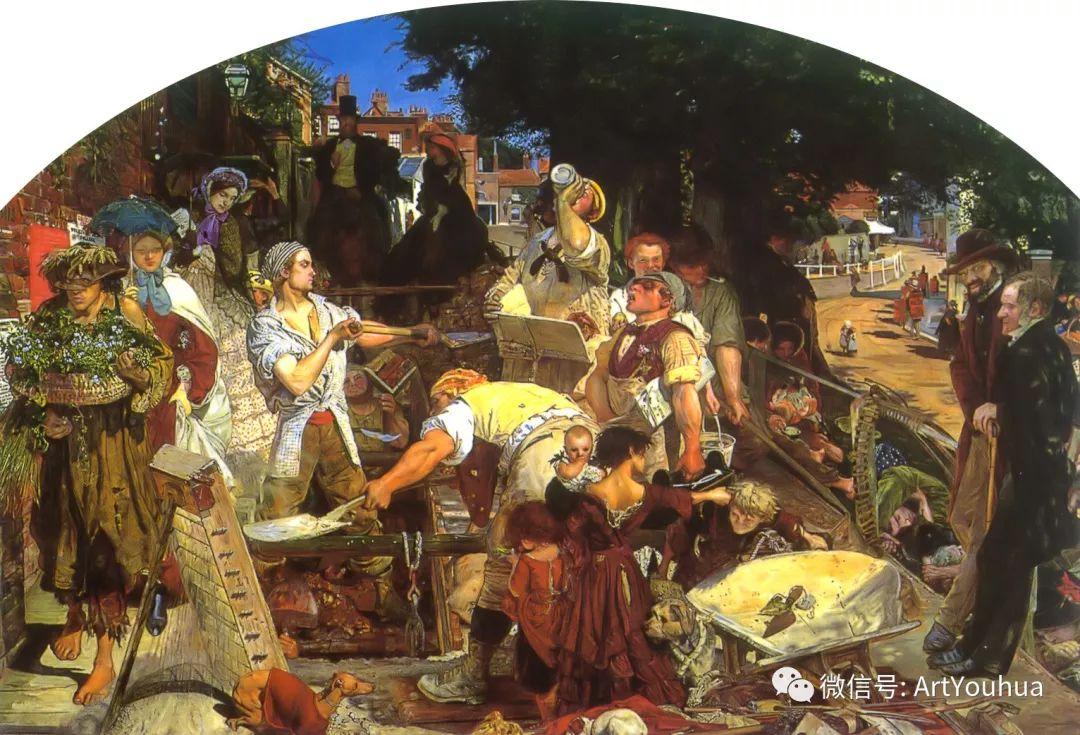 拉斐尔前派  英国画家Ford Madox Brown插图7