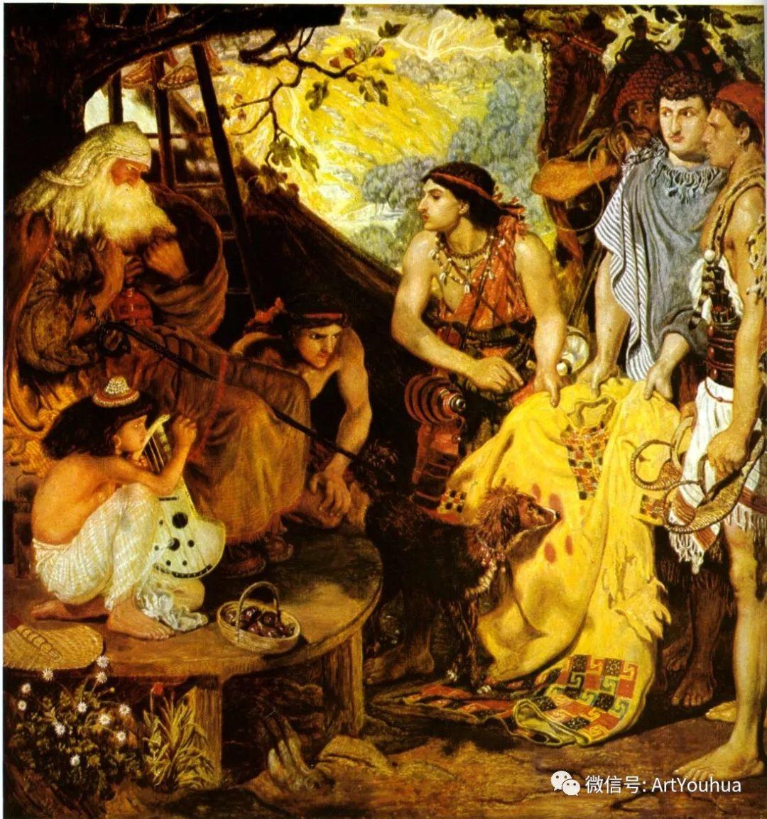 拉斐尔前派  英国画家Ford Madox Brown插图9