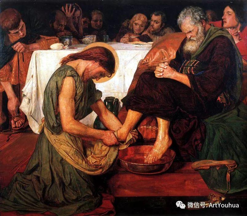 拉斐尔前派  英国画家Ford Madox Brown插图13