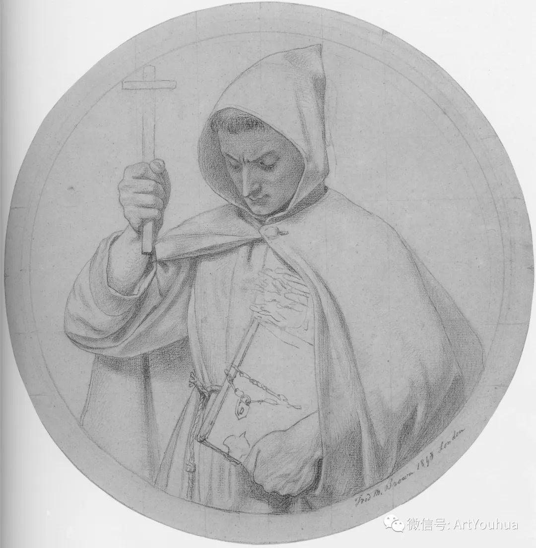 拉斐尔前派  英国画家Ford Madox Brown插图23