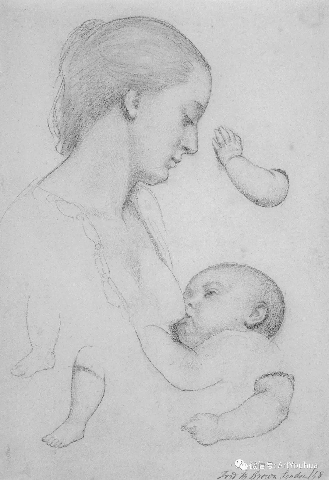 拉斐尔前派  英国画家Ford Madox Brown插图25
