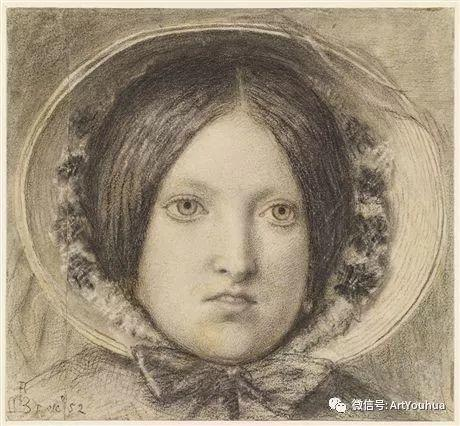 拉斐尔前派  英国画家Ford Madox Brown插图27