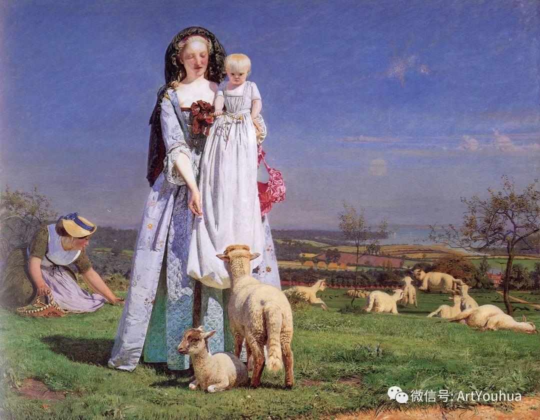 拉斐尔前派  英国画家Ford Madox Brown插图29