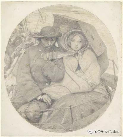 拉斐尔前派  英国画家Ford Madox Brown插图35