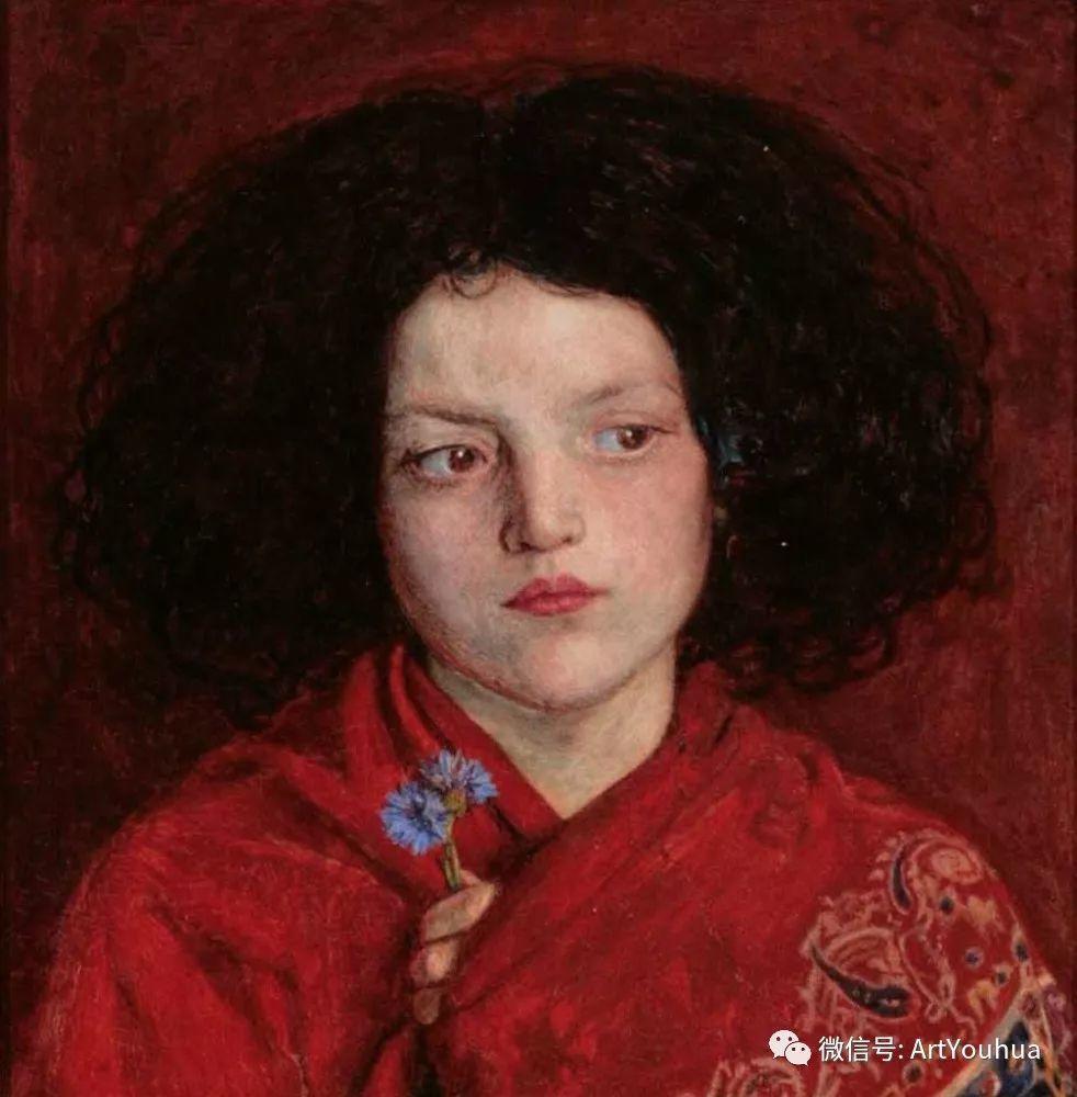 拉斐尔前派  英国画家Ford Madox Brown插图39