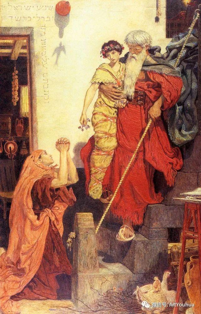 拉斐尔前派  英国画家Ford Madox Brown插图41