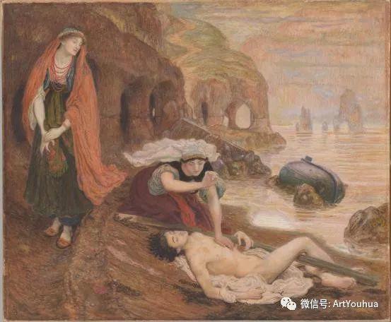 拉斐尔前派  英国画家Ford Madox Brown插图45