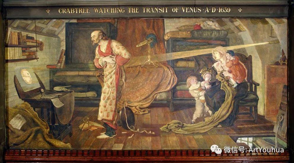 拉斐尔前派  英国画家Ford Madox Brown插图53