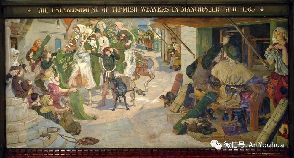 拉斐尔前派  英国画家Ford Madox Brown插图55