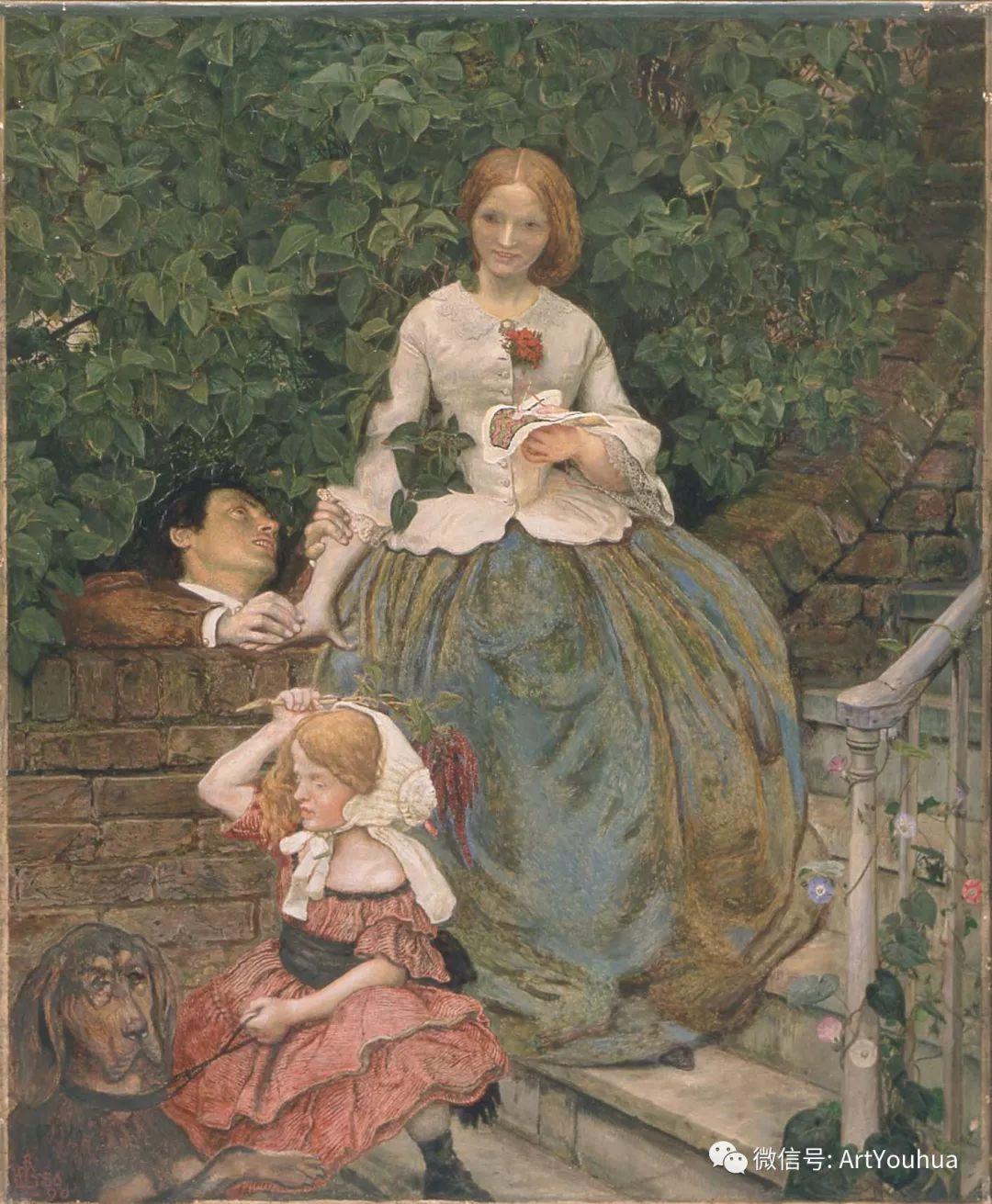 拉斐尔前派  英国画家Ford Madox Brown插图57