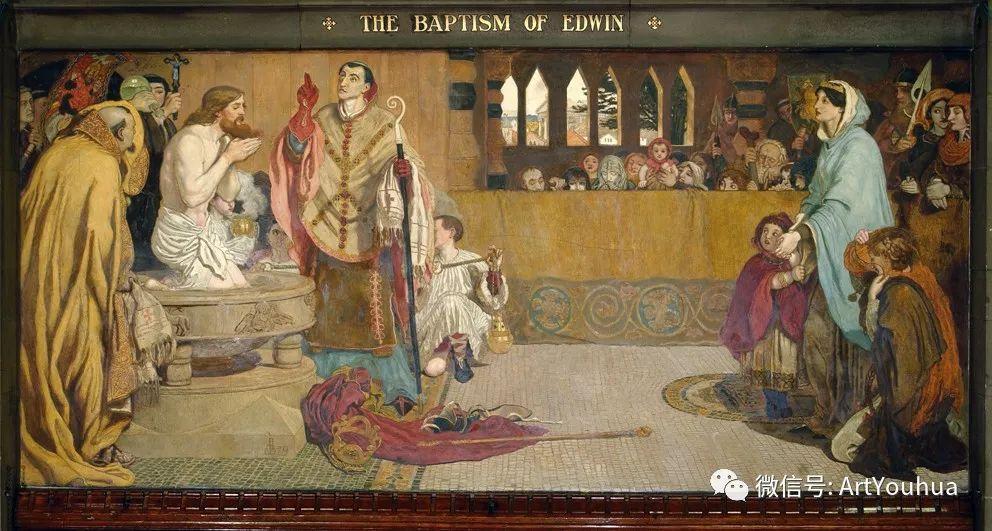 拉斐尔前派  英国画家Ford Madox Brown插图59