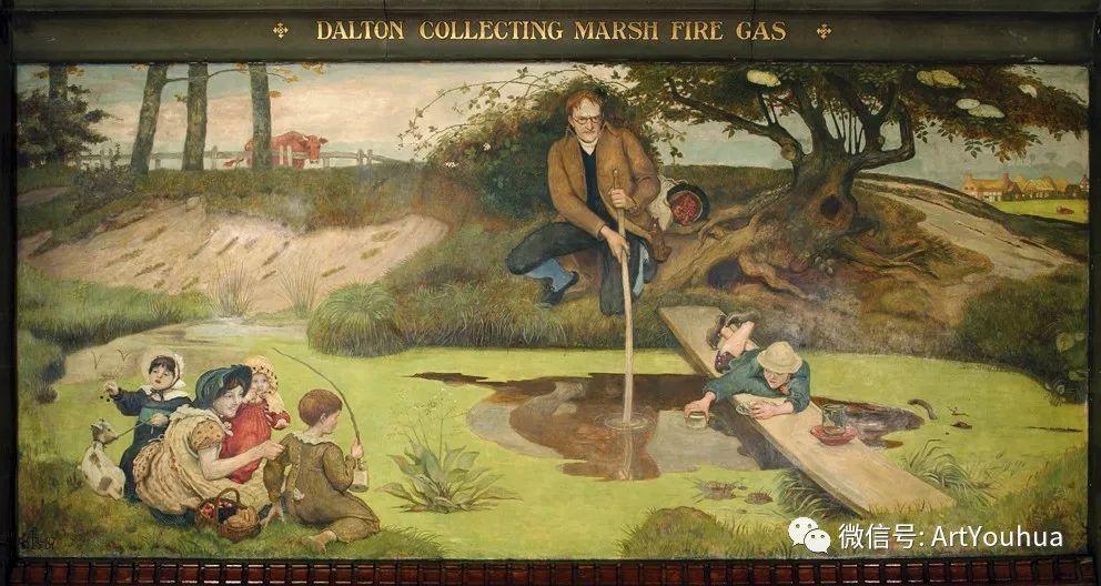 拉斐尔前派  英国画家Ford Madox Brown插图61