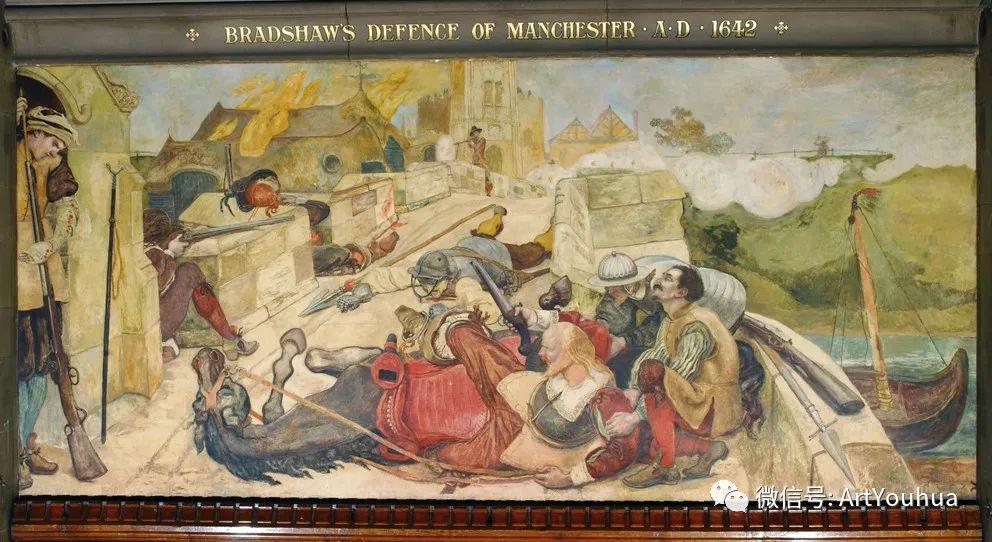 拉斐尔前派  英国画家Ford Madox Brown插图63