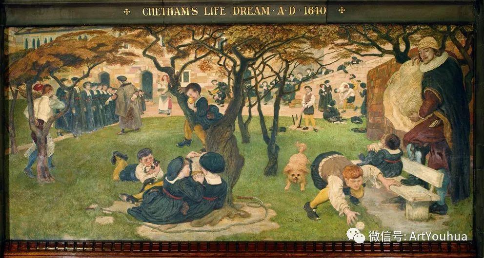 拉斐尔前派  英国画家Ford Madox Brown插图67
