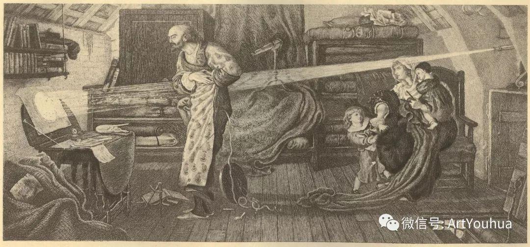 拉斐尔前派  英国画家Ford Madox Brown插图69