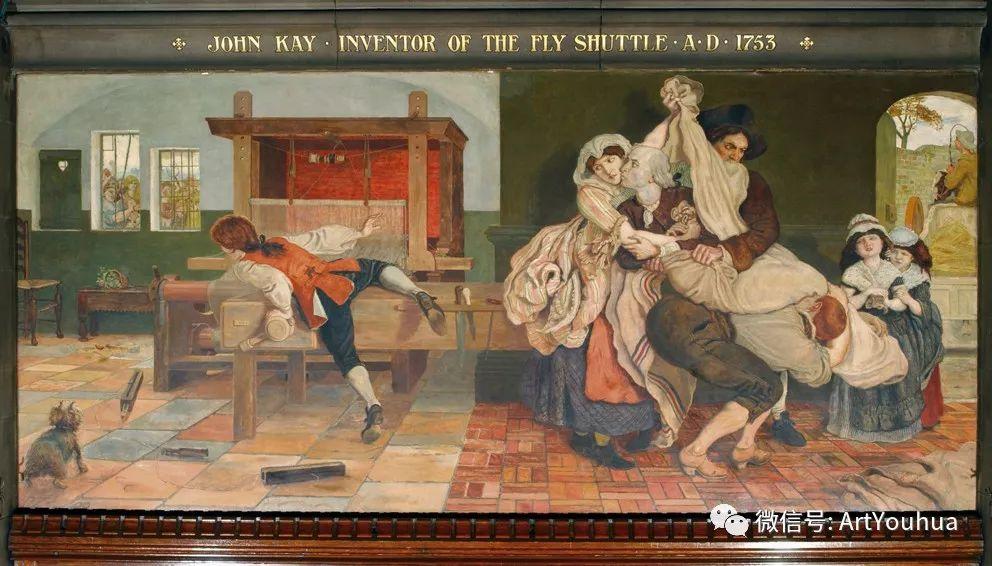 拉斐尔前派  英国画家Ford Madox Brown插图71