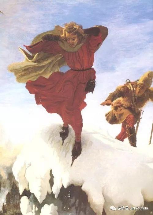 拉斐尔前派  英国画家Ford Madox Brown插图73