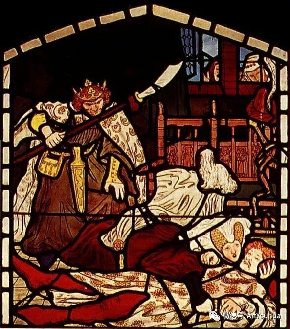 拉斐尔前派  英国画家Ford Madox Brown插图77
