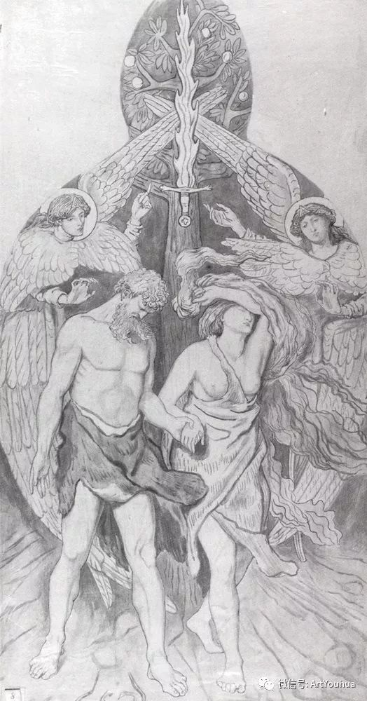 拉斐尔前派  英国画家Ford Madox Brown插图79