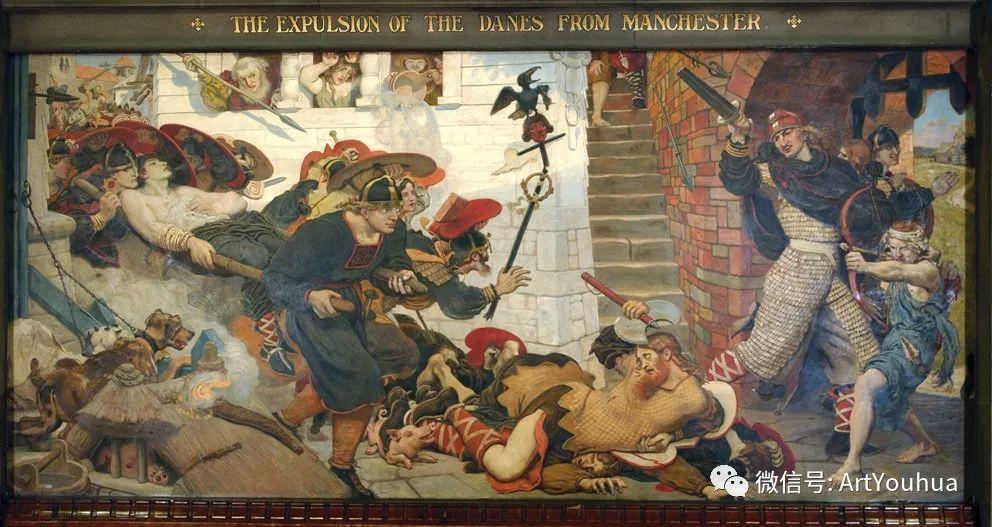 拉斐尔前派  英国画家Ford Madox Brown插图81