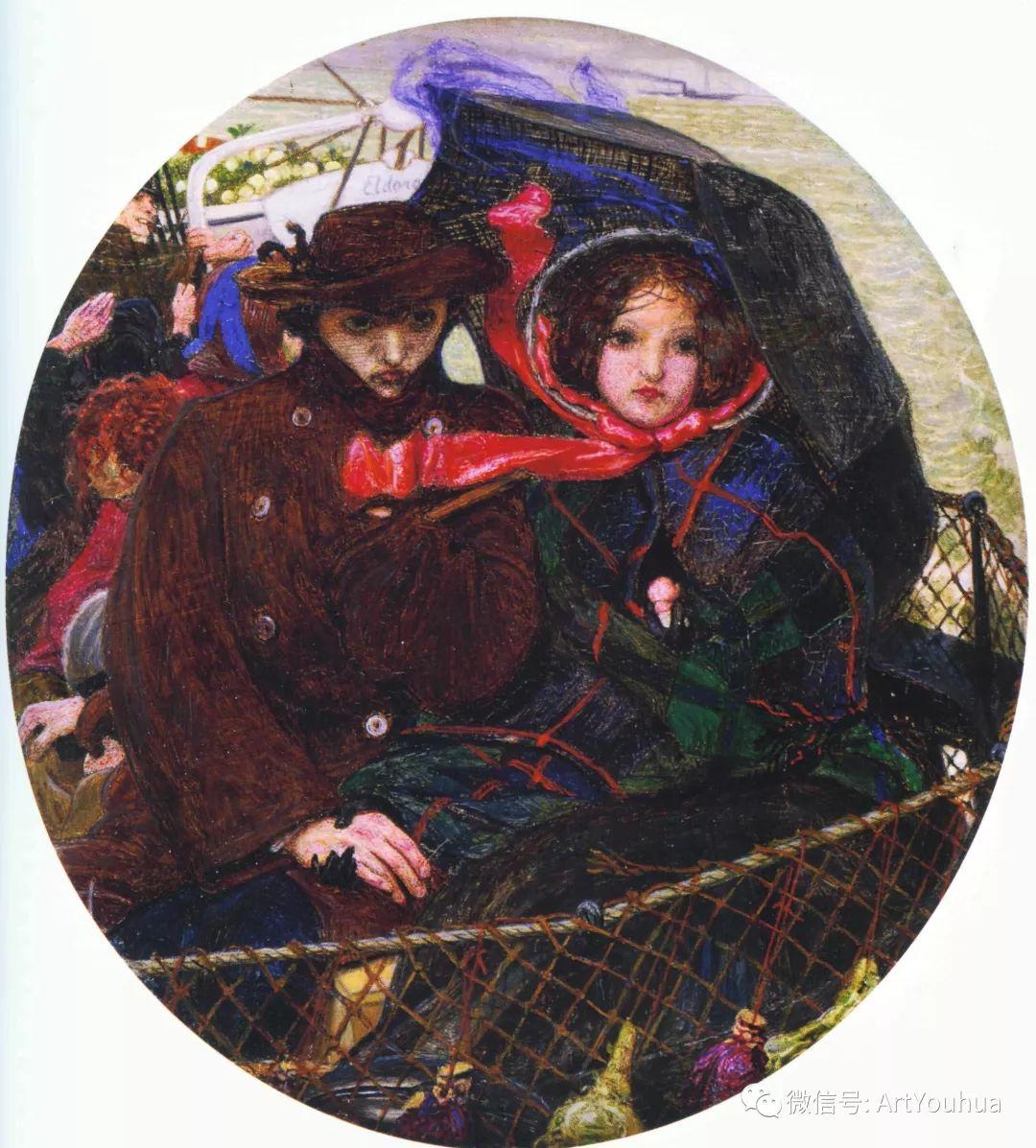 拉斐尔前派  英国画家Ford Madox Brown插图83