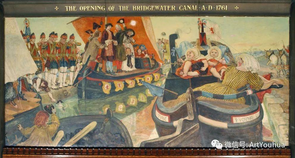 拉斐尔前派  英国画家Ford Madox Brown插图85