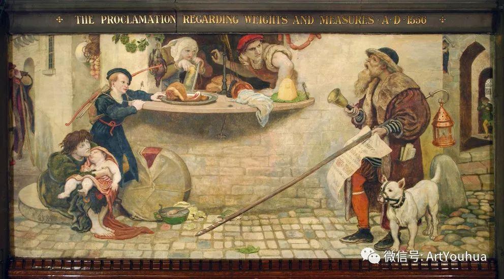拉斐尔前派  英国画家Ford Madox Brown插图87
