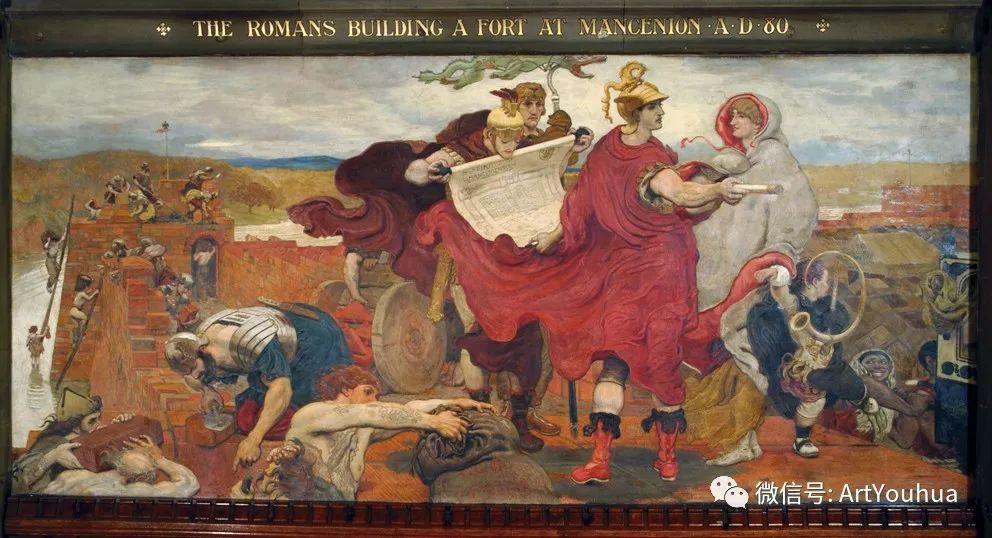 拉斐尔前派  英国画家Ford Madox Brown插图89