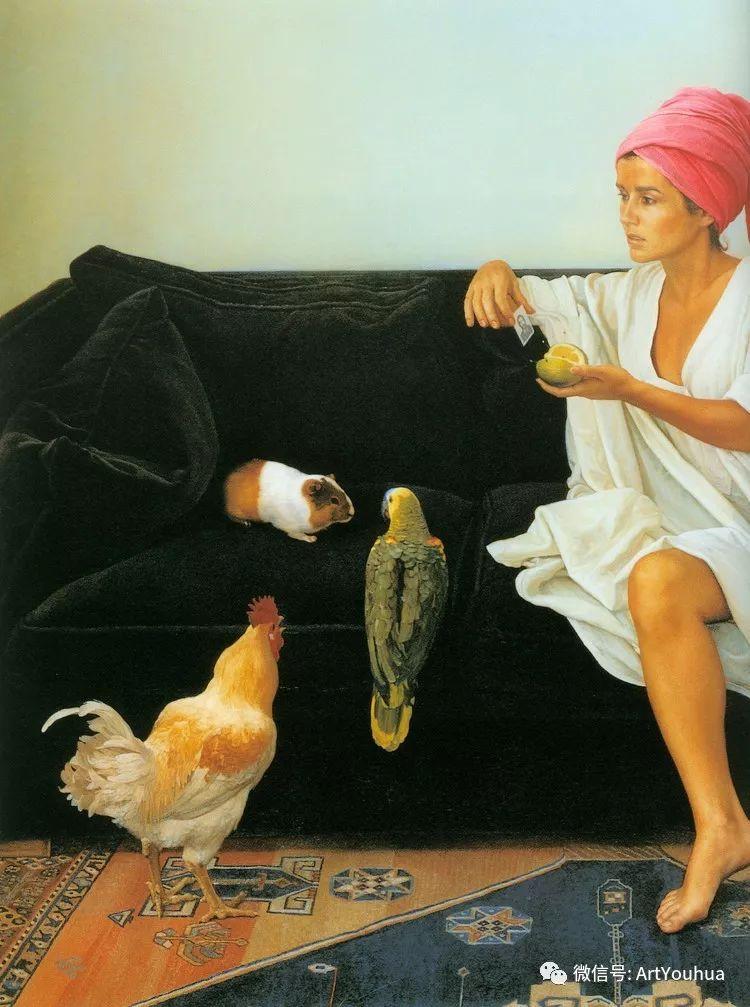 人物风景油画 西班牙籍Claudio Bravo插图7