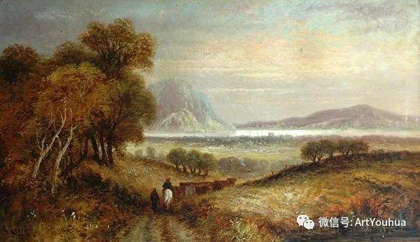 人物 英国George Dunlop Leslie油画作品插图10