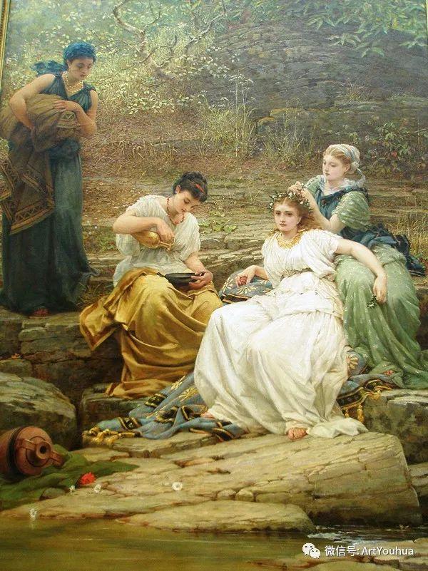 人物 英国George Dunlop Leslie油画作品插图19