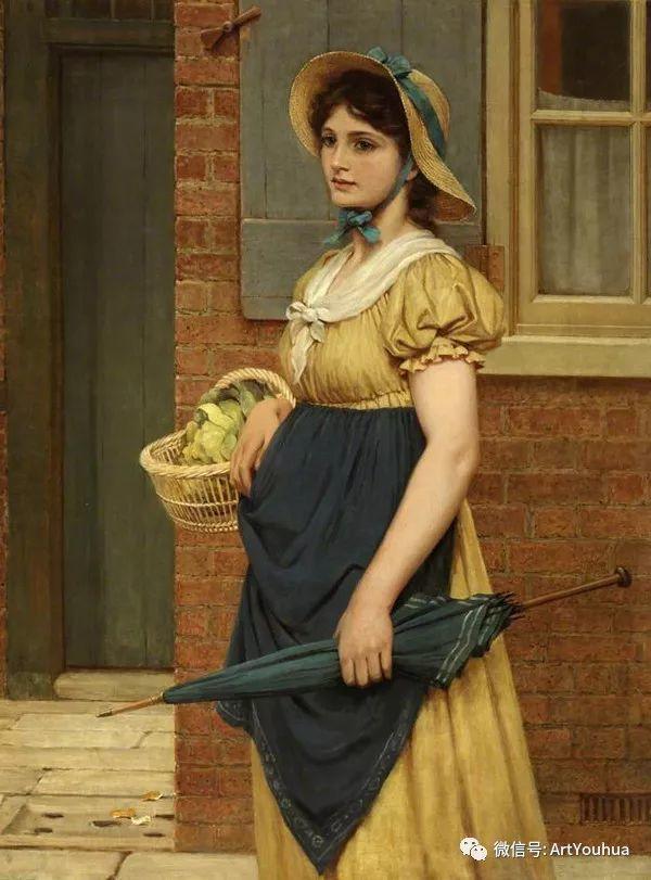 人物 英国George Dunlop Leslie油画作品插图29