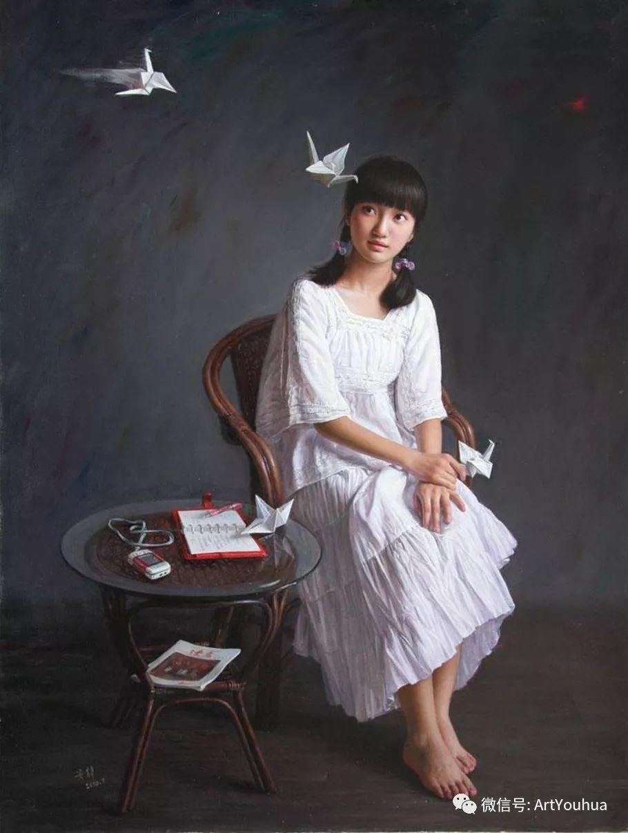 女画家安静油画人物欣赏插图19