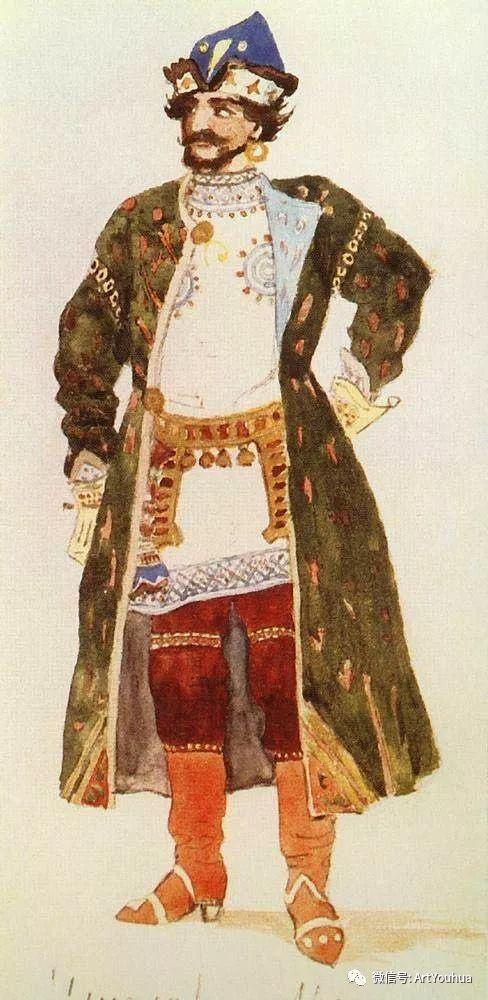 历史和神话题材油画 俄罗斯Viktor Mikhailovich Vasnetsov插图11