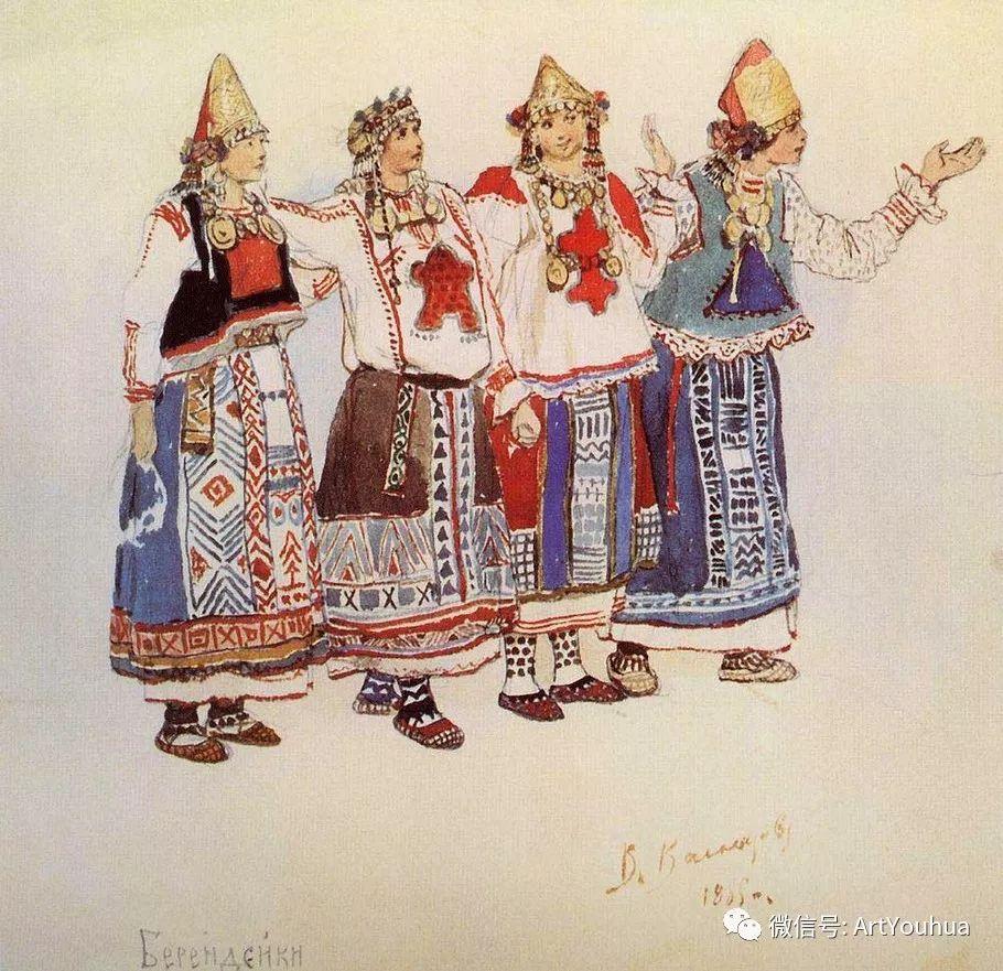 历史和神话题材油画 俄罗斯Viktor Mikhailovich Vasnetsov插图15