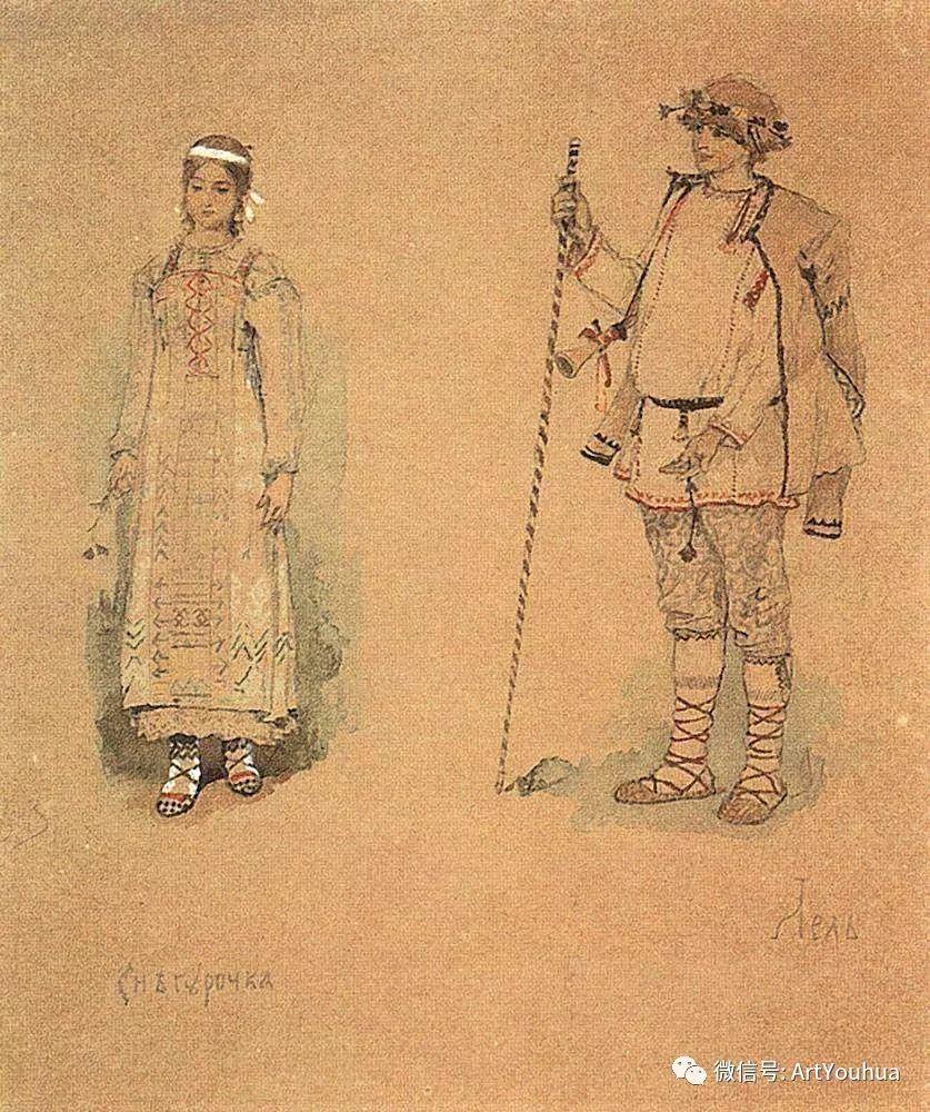 历史和神话题材油画 俄罗斯Viktor Mikhailovich Vasnetsov插图17