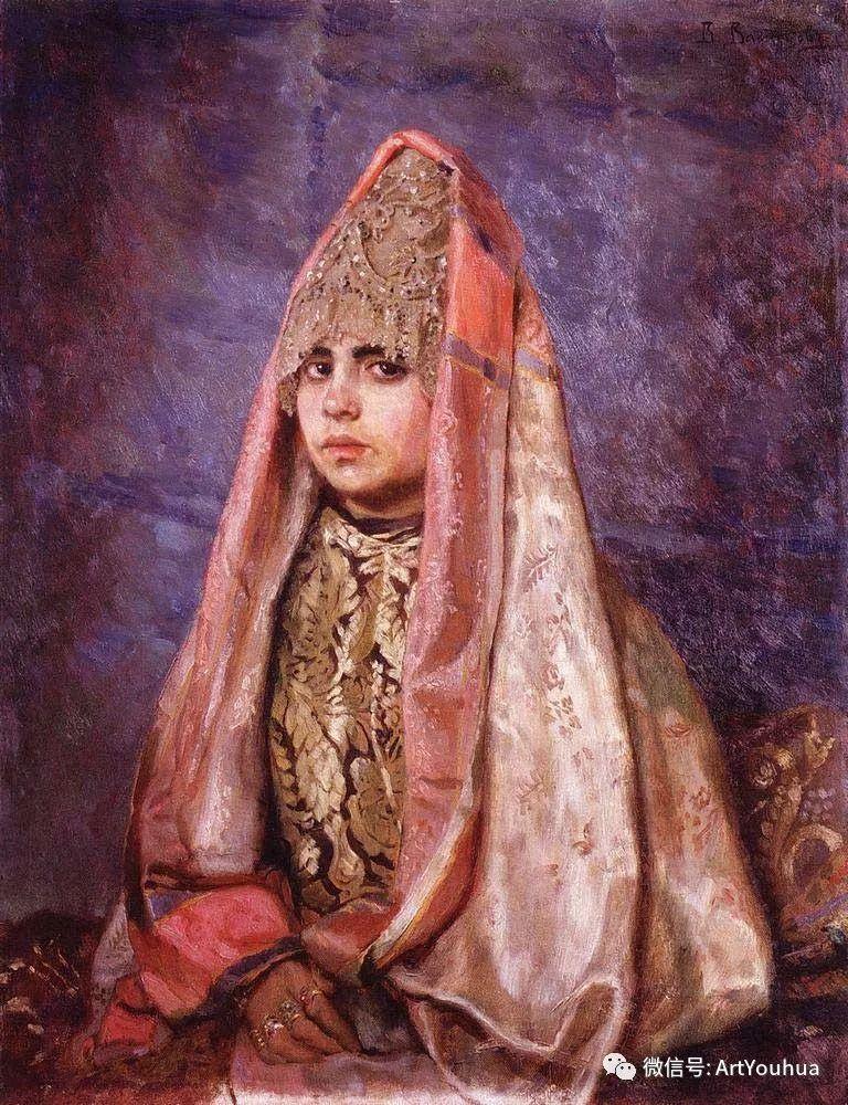 历史和神话题材油画 俄罗斯Viktor Mikhailovich Vasnetsov插图25