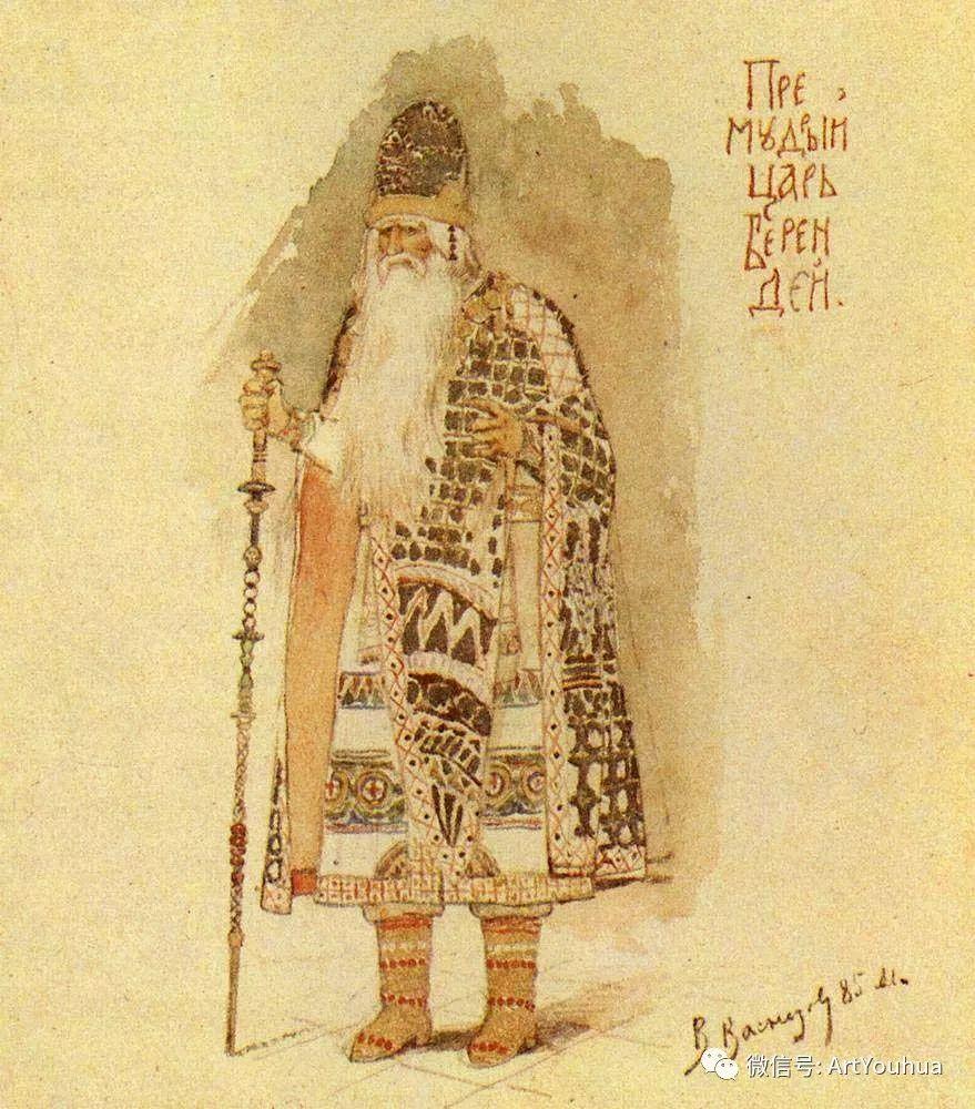 历史和神话题材油画 俄罗斯Viktor Mikhailovich Vasnetsov插图27